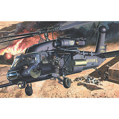 model helicopter,model helicopters,AH-60L Blackhawk DAP -- Plastic Model Helicopter Kit -- 1/35 Scale -- #12115
