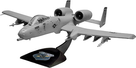 scale model aircraft,plastic airplane model kit,A-10 Warthog -- Snap Tite Plastic Model Aircraft Kit -- 1/72 Scale -- #851181