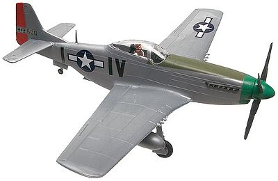 scale model aircraft,plastic airplane model kit,P-51D Mustang -- Snap Tite Plastic Model Aircraft Kit -- 1/72 Scale -- #851374