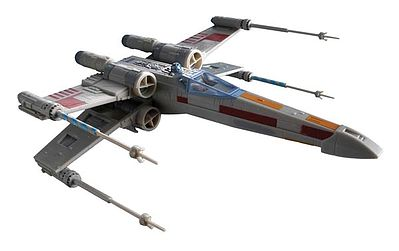 scale model aircraft,plastic airplane model kit,Star Wars X-Wing Fighter -- Snap Tite Plastic Model Spacecraft Kit -- #851856