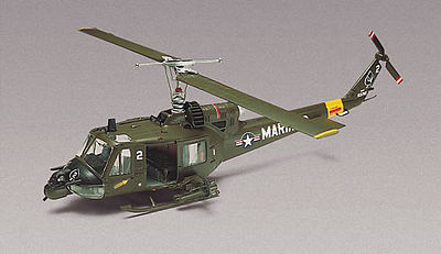 model helicopter,model helicopters,Huey Hog -- Plastic Model Helicopter Kit -- 1/48 Scale -- #855201
