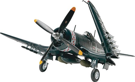 model planes,model airplane,F4U4 Corsair Fighter -- Plastic Model Airplane Kit -- 1/48 Scale -- #855248