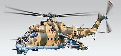 model helicopter,model helicopters,MiL24 Hind -- Plastic Model Helicopter Kit -- 1/48 Scale -- #855856
