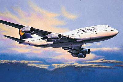 airplane model kits,Boeing 747-400 -- Plastic Model Airplane Kit -- 1/144 Scale -- #04219